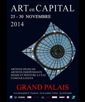 Carton d'invitation Art en Capital 2014
