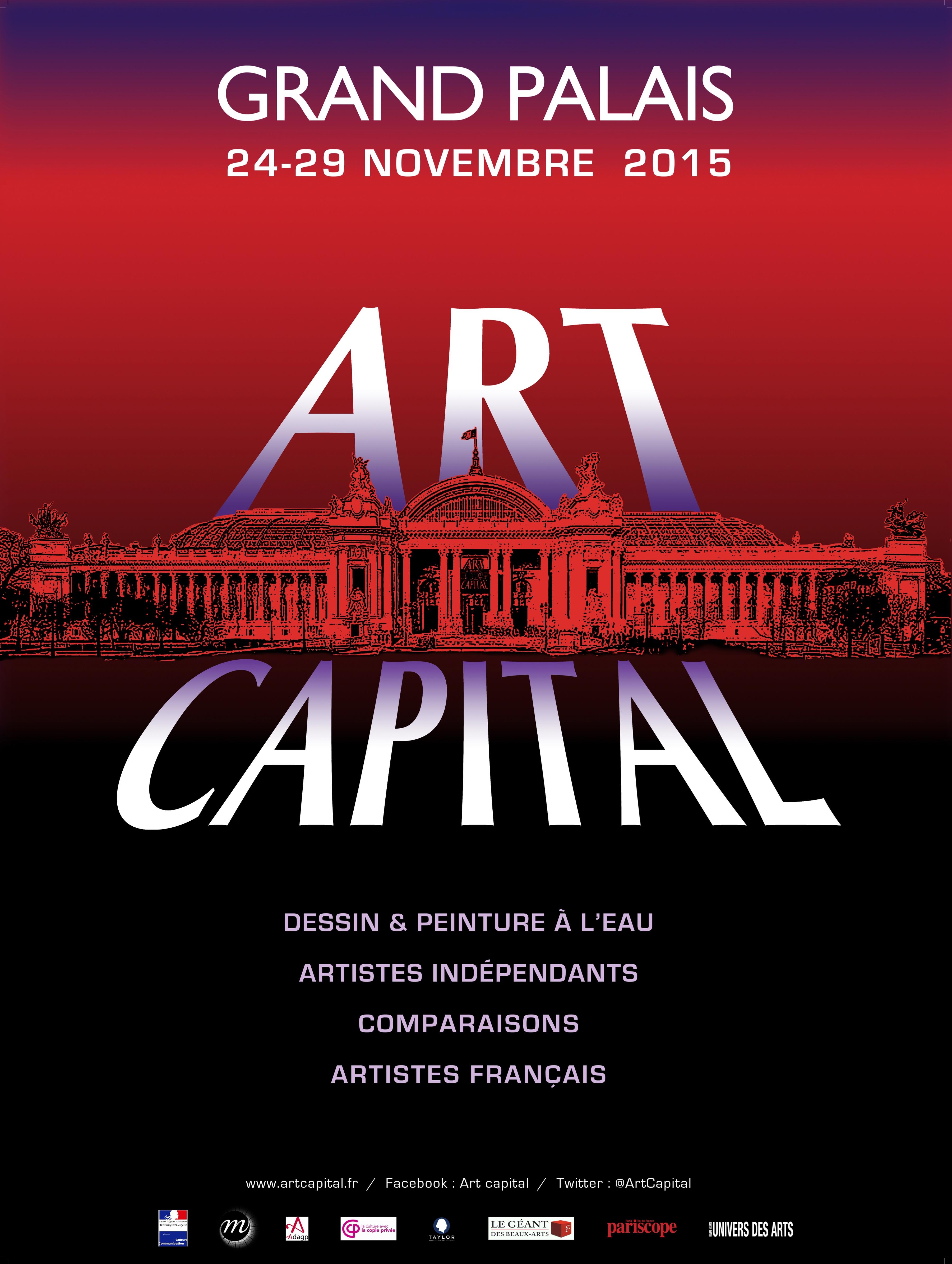 Art en capital 2015 salon du dessin et de la peinture - Salon du dessin et de la peinture a l eau ...
