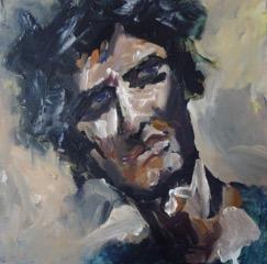 Portrait #4 - Acrylique sur toile - H40 cm * L40 cm