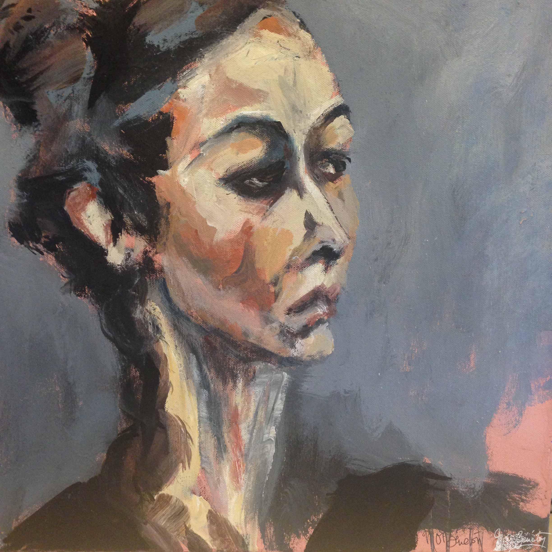 Portrait #8 - Acrylique sur toile - H50 cm * L50 cm