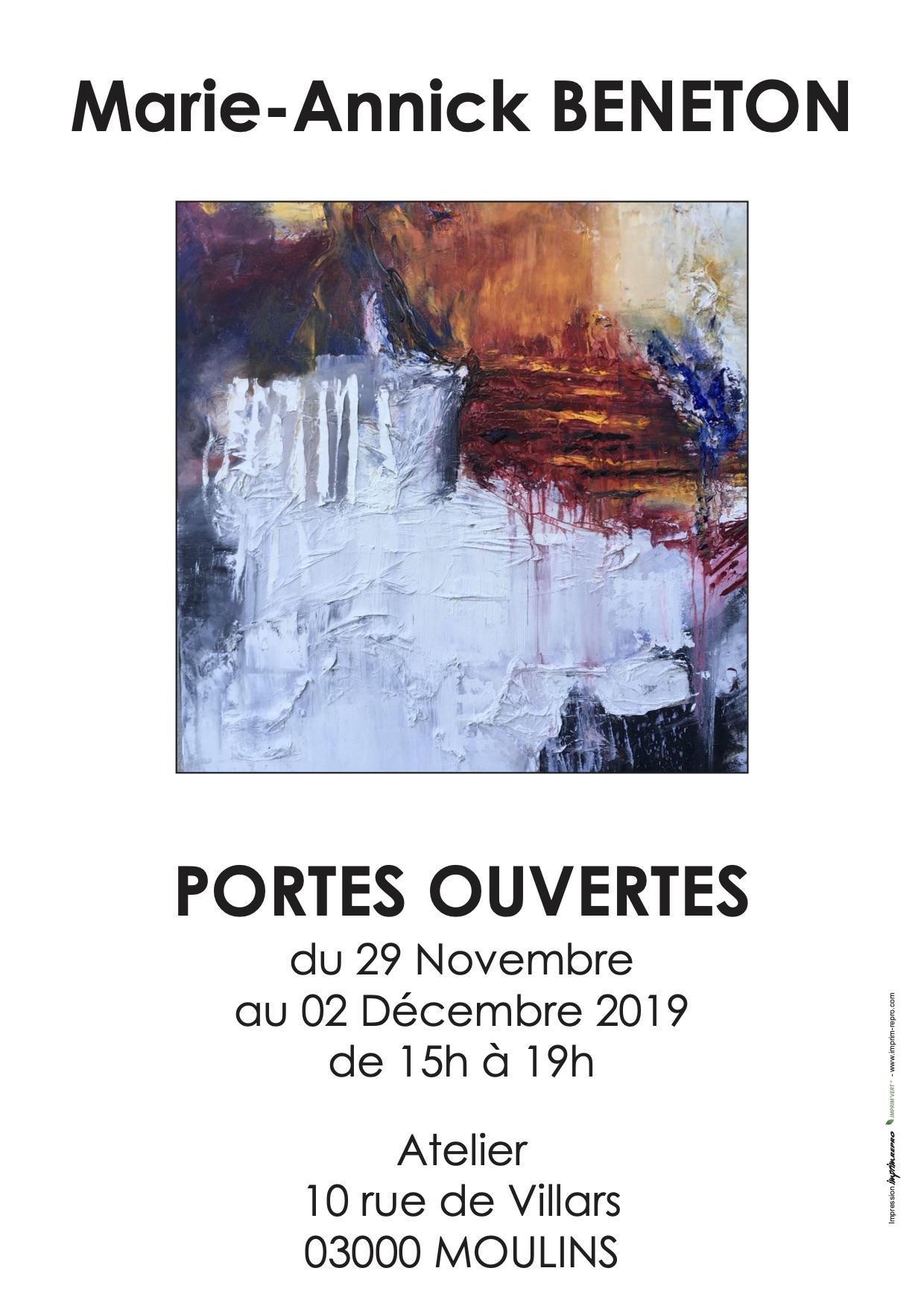 Affiche Portes ouvertes 2019