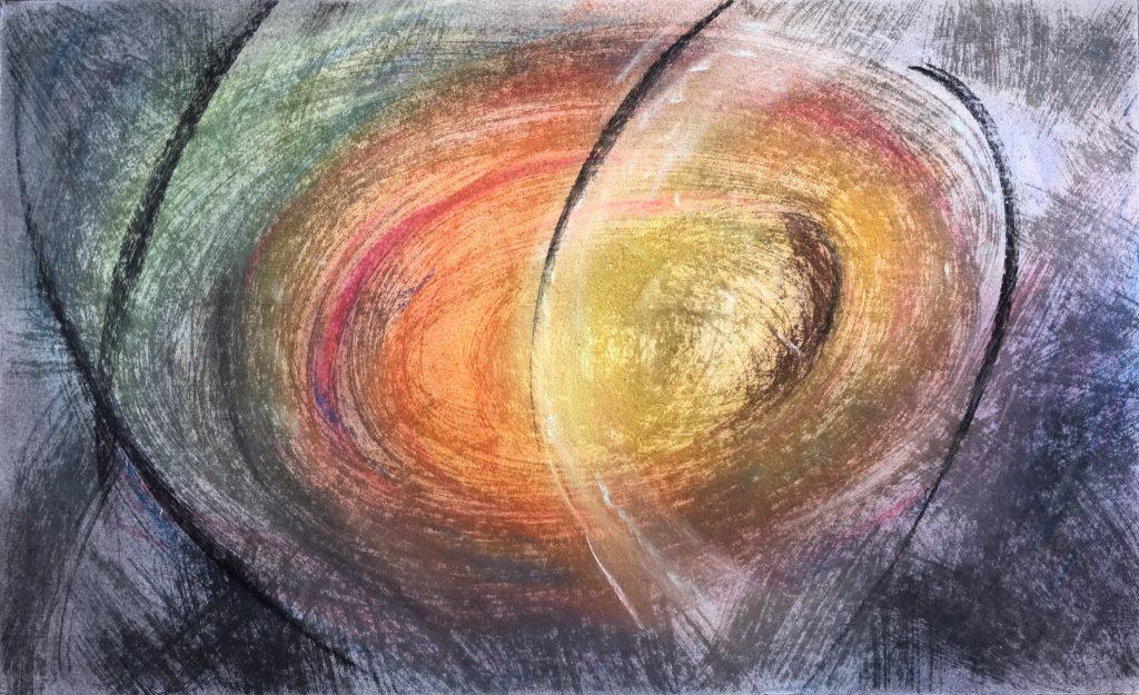 Petit format #1 - Pastel sur papier – H24 cm * L39 cm